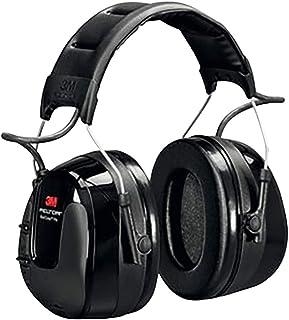 3M Peltor WorkTunes Pro Radio FM - Casque antibruit en serre-tête avec entrée MP3 - Atténuation 32 dB - 1 x casque double ...