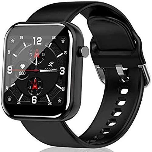 Relojes de pulsera Reloj Inteligente, Smartwatch con Pantalla Táctil para Iphone Android, Rastreadores de Fitness A Prueba de Agua, Podómetro Cronómetro Reloj Inteligente Buletooth para Hombres Y Muje