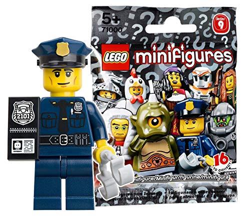 レゴ ミニフィギュア シリーズ9 警察官 71000-6