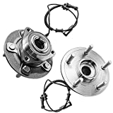 Detroit Axle - Front Wheel Hub & Bearing Assembly Replacement for 2012-2018...