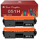 Toner Kingdom Compatible Toner Cartridge Replacement for Canon 051H 051 High Capacity for Canon ImageCLASS MF267dw LBP162dw MF264dw MF267dw Printer (Black, 2-Pack)