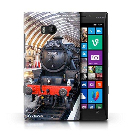 STUFF4 Telefoonhoesje/Cover voor Nokia Lumia Icon/Fusilier/Platform Design/Steam Locomotive Collection