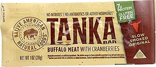 product image for Tanka Bar,natural Buffalo Cranberry Bar, 28 g (Pack of 12) by Tanka Bar