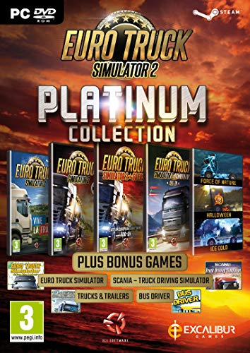 Euro Truck Simulator 2 - Platinum Collection PC DVD (English Edition)