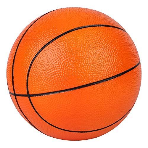 BORPEIN Bola suave básica de 17 cm, no necesita bomba, básica, básica, ideal para jugar y hacer ejercicio suave y seguro (naranja)