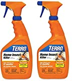 Terro 2 Pack, 1 Quart Spray Home Insect Killer 12 Month Non-Staining, Odorless Indoor/Outdoor