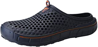Men's Clogs Slippers Slip On Outdoor Slippers Leisure Mesh Beach Sandal Shoes Summer Quick Drying Flip Flops