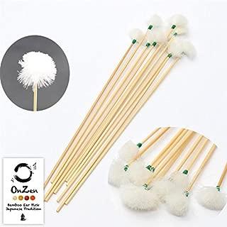 Oriental Japanese Bamboo 3pcs Ear Wax Clean Ear Wax Ear pick Earwax Removal