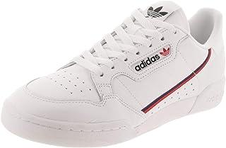 adidas Men's Continental 80 Originals White/Scarlet/Collegiate Navy Casual Shoe 12 Men US