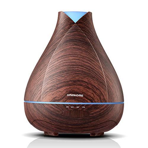 Buy Bargain Ominihome Essential Oil Diffuser 300ml Cool Mist Humidifier Ultrasonic Aroma Diffuser, W...