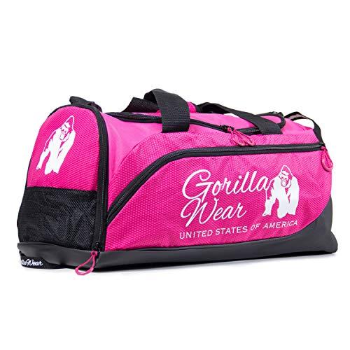 GORILLA WEAR Sporttasche Santa Rosa Gym Bag Damen - Pink/Schwarz - Bodybuilding Fitness Tasche