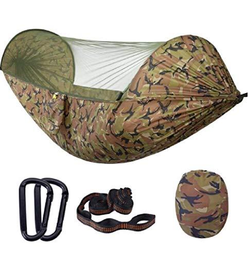 Hangmat outdoor zonnescherm anti-mug hangmat, het kamperen tent, indoor swing hangmat, tuin hangmat, reizen, jacht, enz. Load 230kg, dljyy
