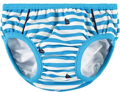 NAME IT Baby Jungen Badehose mit Windeleinsatz NMMZANITO, Farbe:Hawaiian Ocean, Größe:86-92