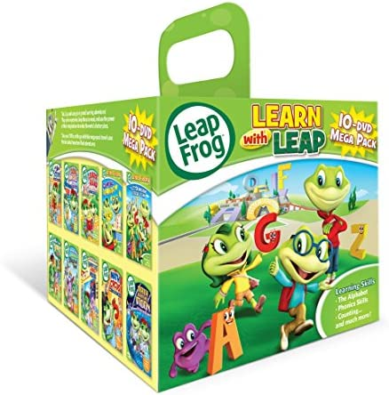 Leapfrog Learn with Leap 10 DVD Mega Pack product image