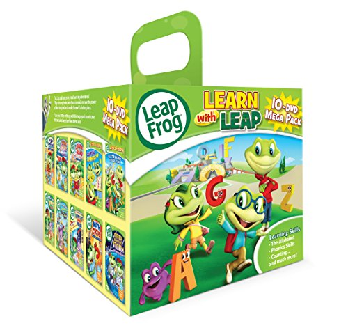 Leapfrog: Learn with Leap 10-DVD Mega Pack