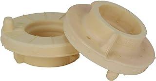 2x Federgummi Federgummis Gummiunterlage Federteller Federunterlage Hinterachse oben