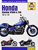 Honda Shadow VT600 & 750 1988 to '09 (Haynes Service & Repair Manual)