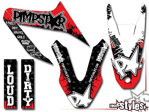 Yamaha WR 125 R Premium Factory DEKOR Decals Sticker Aufkleber KIT