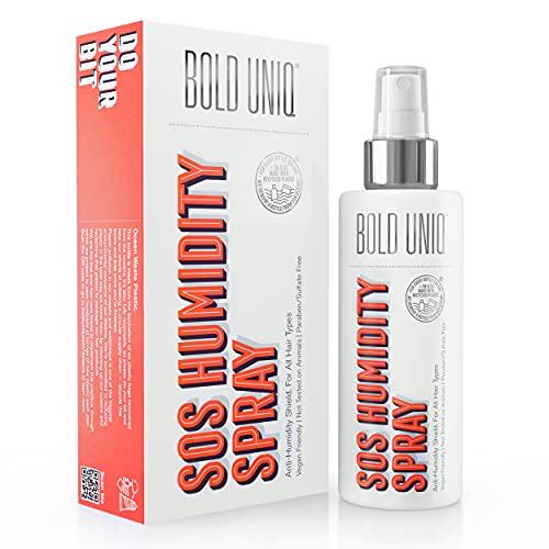 Anti Frizz Haarfeuchtigkeits-Blockierspray - Leave-in-Produkt Vegan & PETA-konform - Behandlung gegen statische Aufladung - Für gerades, welliges, lockiges, krauses, trockenes Haar - 175 ml