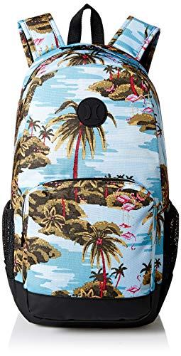 Hurley Renegade II Flamingo Mochila, Hombre, Azul (Ocean Bliss), Talla Única