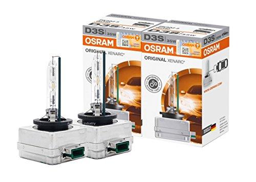 OSRAM XENARC D3S HID Xenon Headlight bulbs 66340 Pack of 2 by ALI