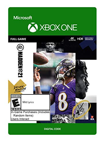 Madden NFL 21 Deluxe – Xbox Series X|S – Xbox One[Digital Code]