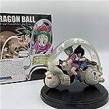 YIGEYI Dragon Ball Z Bulma Goku Anime Acción Figura 10 cm Figuras de PVC Figuras Coleccionables Mode...