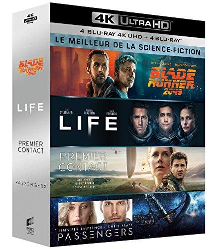 Meilleur de la science-fiction - Coffret : Blade Runner 2049 + Life + Premier contact + Passengers [4K Ultra HD + Blu-ray] [4K Ultra HD + Blu-ray]
