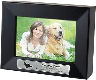 Perfect Memorials Custom Engraved Heritage Photo Frame Cremation Urn Medium