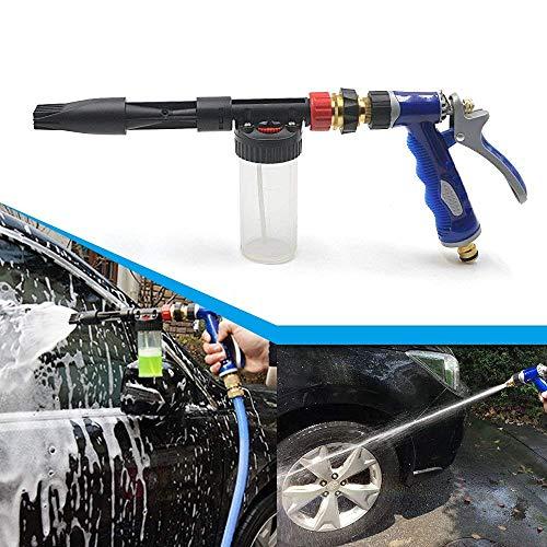 xnbnsj Autowaschanlage Wasserpistole Schaumpistole selbstansaugende Schaum Multifunktions-Haushaltsbewässerungsbürste Auto Reinigung