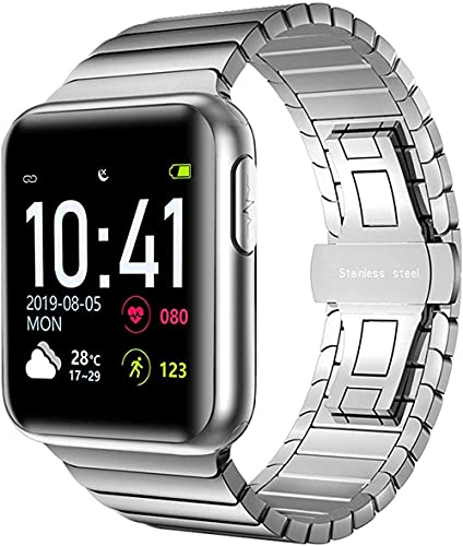 GPWDSN Multifunción Bluetooth Smart Step Counter Recordatorio de Llamadas telefónicas electrónicas Soporte Reloj electrónico Deportivo Reloj Inteligente