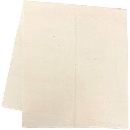 【日本製】 カット生地 《無地 生成》無添加ダブルガーゼ 綿100% (生地幅 約110cm×長さ 約50cm) un doudou No.W200