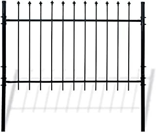 ALEKO DWGF5X5 DIY Steel Fence Panel Kit Athens Style 5 x 5 Feet