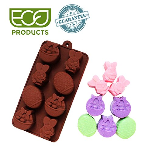 Silicone Easter Eggs and Bunny Mold