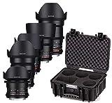 Samyang 1VDSLR Kit de lente para Canon cámara