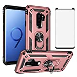 Phone Case for Samsung Galaxy S9 Plus with Tempered Glass