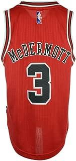 Youth Chicago Bulls Doug Mcdermott #3 Swingman Jersey Adidas NBA Official (Youth Small)