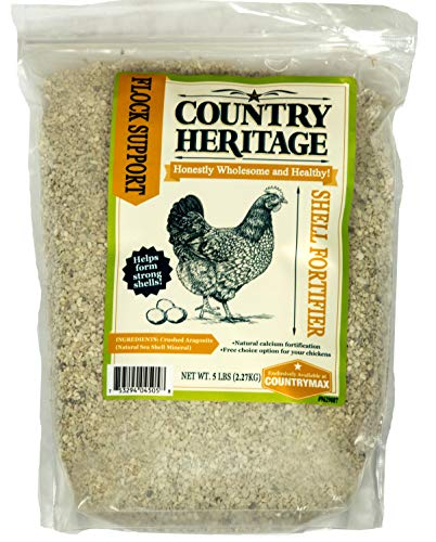 Country Heritage Chicken Poultry Egg Shell Hardener Fortifier 5 Pounds