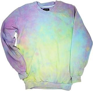 Pastel Goth Tie Dye Sweatshirt Unisex a03667d78a60