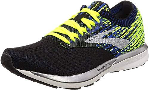 Brooks Ricochet, Zapatillas de Running Hombre, Verde Negro, 44 EU