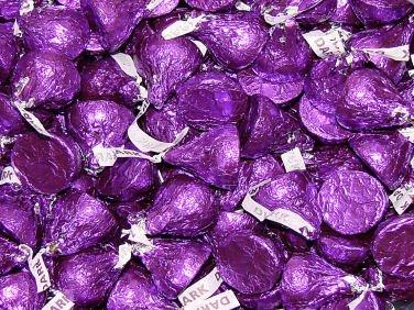 Hershey's Kisses - Dark Chocolate - Purple, 4.5 pounds