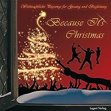 Because It's Christmas: Weihnachtliche Popsongs für Gesang und Begleitung