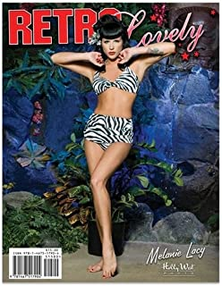 Retro Lovely Pinup Magazine #8 by Michael Bann (2013-08-02)