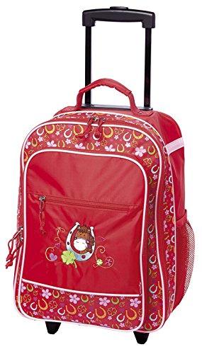 sigikid, Mädchen, Kindergepäck Trolley Pferde Fan, Pony Sue, 40x30x17, Rot, 24544