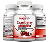 Health Labs Nutra 50:1 Triple-Strength Cranberry Concentrate with Vitamins C & E – HelpsPromote Urinary Tract Health and Immune Health(60 FastActing Softgels) 30-Day Supply (Pack of 3)