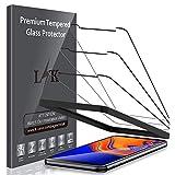 LK Compatible avec Samsung Galaxy J4+ / J4 Plus 2018 Verre Trempé, 3 Pièces,Protection...