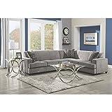Tess Sectional Sofa for Corners Grey
