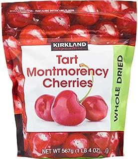 Kirkland Signature Tart Montmorency Whole Dried Cherries (Resealable Bag) - 20 oz.