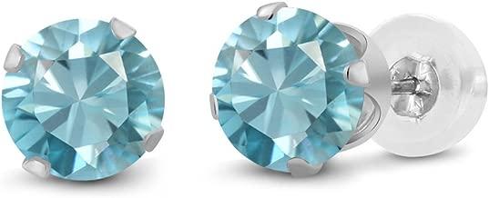 Best white zircon stud earrings Reviews