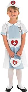 Rubie's Official Nurse Uniform Girl's Fancy Dress Up Child Kids Costume Book Week Outfit